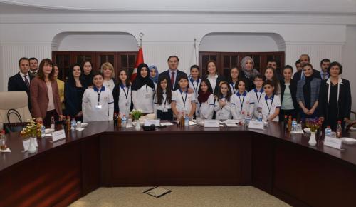 Çocuk Meclisi Kamu Başdenetçisi Malkoç ile buluştu