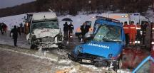 Çorum'da askeri araç kaza yaptı: 2 şehit