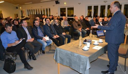 """Danimarka'da iş adamlarına """"Türkiye'de Yatırım Fırsatları"""" anlatıldı"""