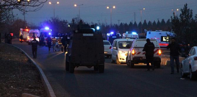 Diyarbakır'daki hain saldırıda şehit sayısı 5'e yükseldi