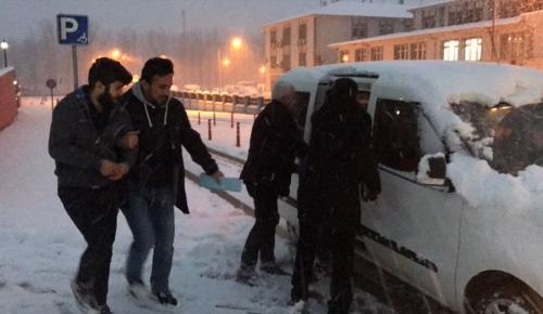 Düzce'de hırsızlık iddiası