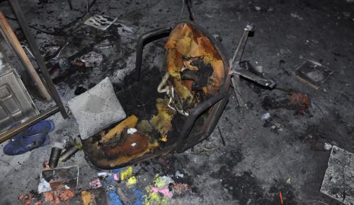 Eski iş yerinde hırsızlık yapıp yangın çıkardığı iddiası