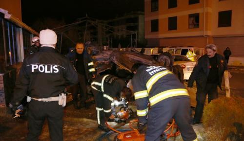 Eskişehir'de trafik kazası: 2 ölü, 1 yaralı