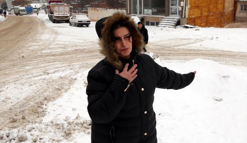 Eskişehir'deki güvenlik kamerasına yansıyan trafik kazası