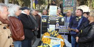 Fenerbahçe'nin unutulmaz futbolcusu Lefter anıldı