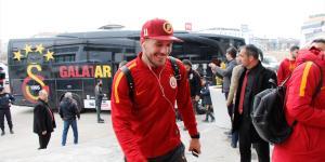 Galatasaray kafilesi Elazığ'da