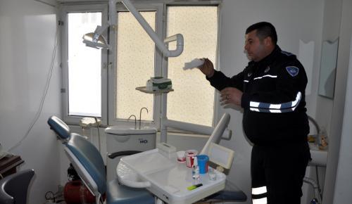 Gaziantep'te ruhsatsız sağlık merkezi mühürlendi