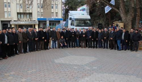 Haleplilere yardım kampanyası
