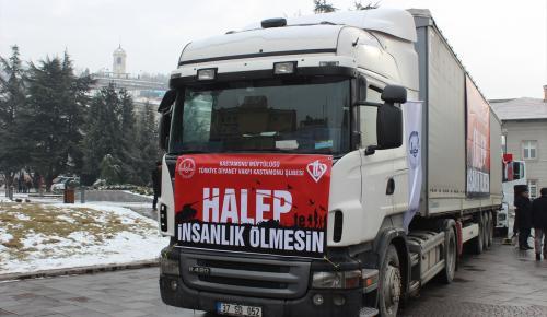 """""""Halep'te İnsanlık Ölmesin"""" kampanyası"""