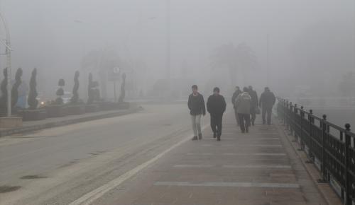 Hatay'da yoğun sis