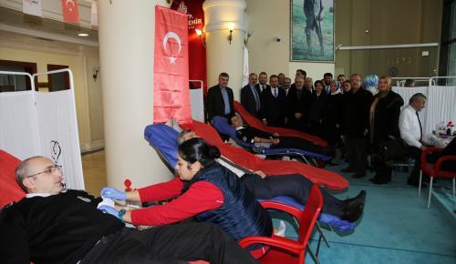 İstanbul Büyükşehir Belediyesinden kan bağışı kampanyasına destek