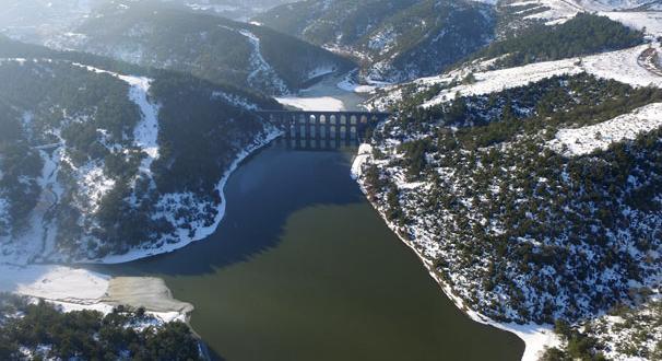 İstanbul'daki barajların doluluk oranı yüzde 15 arttı