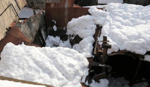 İstanbul'da çatı çökmeleri