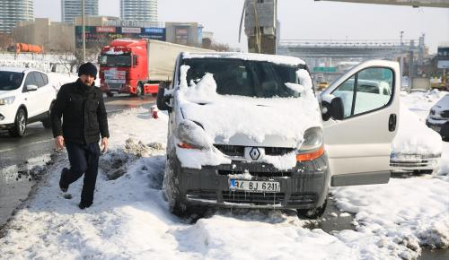 İstanbul'daki kar yağışı