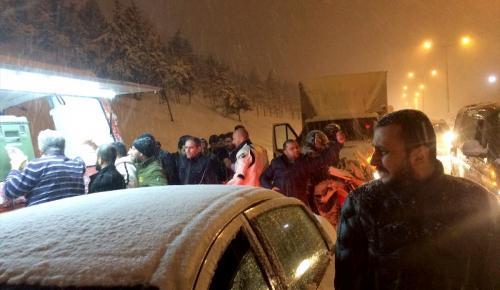 GÜNCELLEME – İstanbul'daki kar yağışı