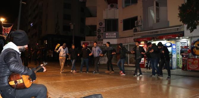 İzmir'de yılbaşı kutlamaları