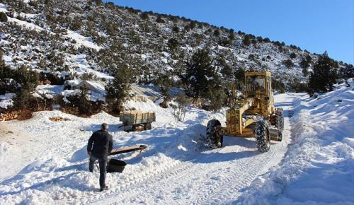 Kar nedeniyle mahsur kalan çoban ve eşi kurtarıldı