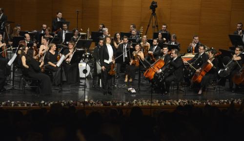Keman virtüözü Markov Bursa'da sahne aldı