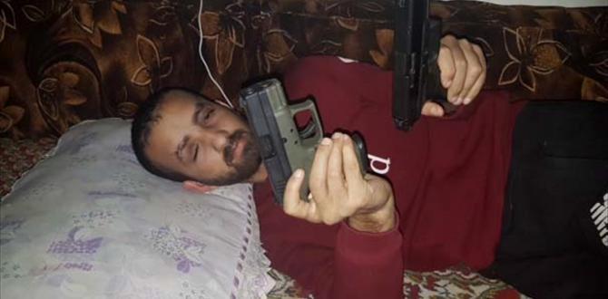 Kilis'te DEAŞ terör örgütünün keskin nişancısı yakalandı