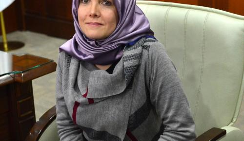 Kolombiyalı kadın Müslüman oldu