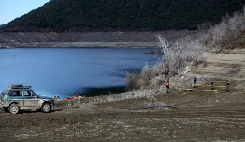 Köprübaşı Barajı'da balık tutarken 2 kişinin kaybolması