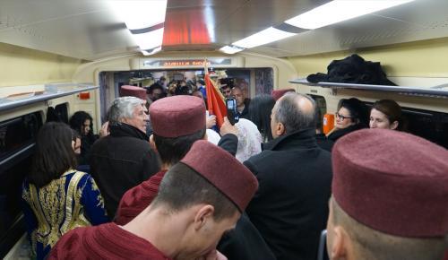 Kosova ile Sırbistan arasında tren gerginliği