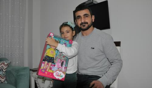 Küçük Elvin'den Haleplilere yardım