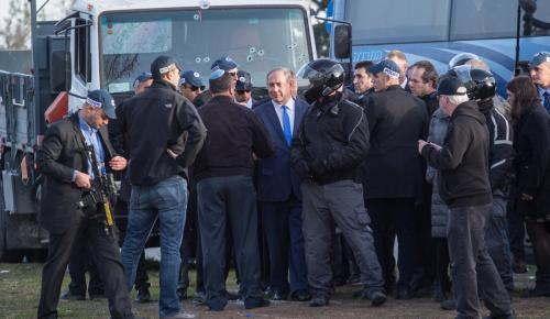 Kudüs'te kamyonla düzenlenen saldırı