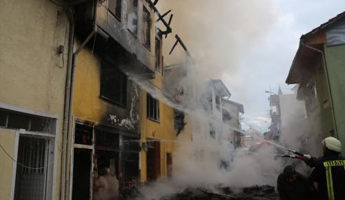 GÜNCELLEME – Kütahya'da ev yangını