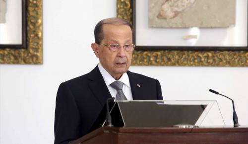 Lübnan Cumhurbaşkanı Avn diplomatik temsilcileri kabul etti