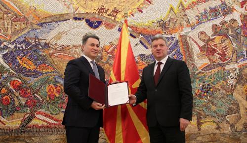 Makedonya'da hükümet kurma çalışmaları