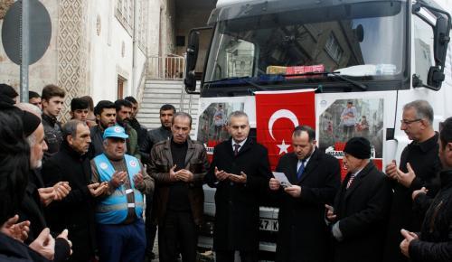 Mardin'den Haleplilere yardım