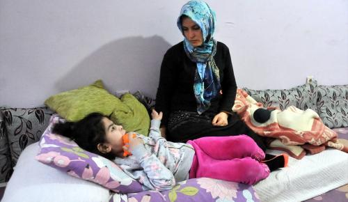 MPS hastası kızları için destek bekliyorlar