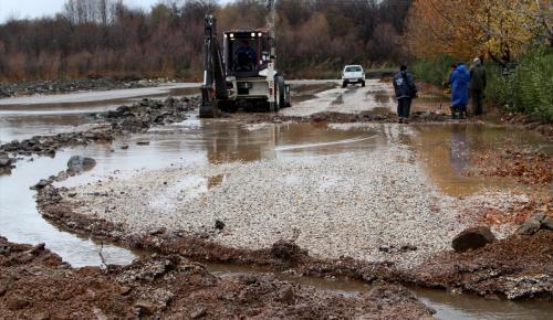 Muğla'da şiddetli yağış