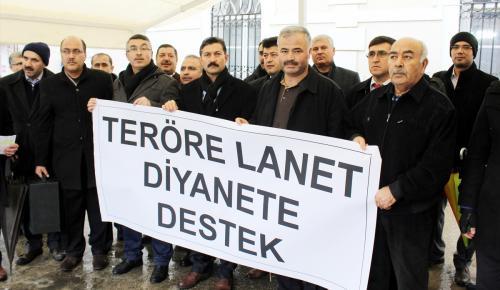 """Muğla'daki STK'lerden """"Teröre Lanet Diyanet'e Destek"""" açıklaması"""