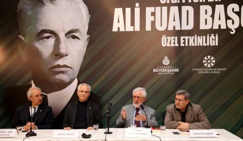 Ord. Prof. Dr. Ali Fuad Başgil anıldı