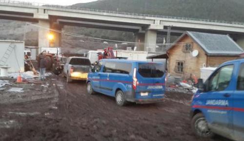 Bursa'da otoyol şantiyesine PKK operasyonu: 2 gözaltı