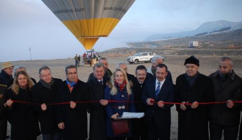 Pamukkale'de balon uçuşları