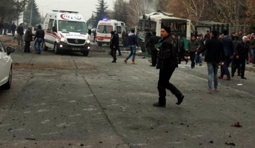 Kayseri'deki bombalı saldırıya ilişkin 4 asker gözaltına alındı