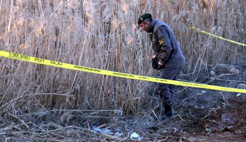 Şanlıurfa'da menfeze yerleştirilmiş patlayıcı bulundu