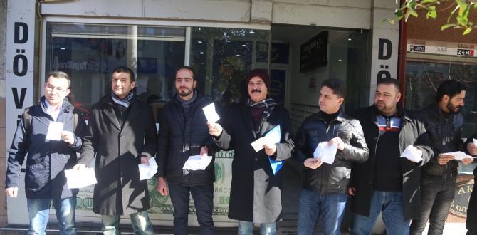 SDÜ'deki yabancı öğrenciler dolar bozdurdu