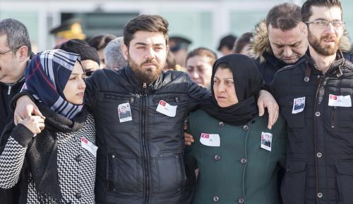Şehit astsubayın cenazesi Konya'ya getirildi