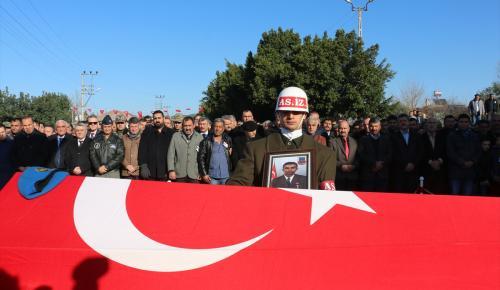 Şehit Jandarma Uzman Çavuş Kaya son yolculuğuna uğurlandı
