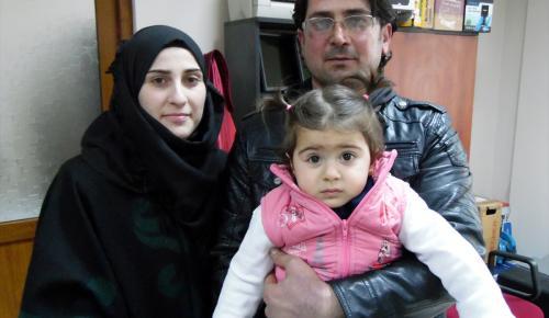 Sığınmacıların nikah sevinci