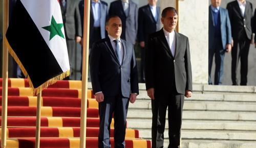 Suriye Başbakanı Hamis, İran'da