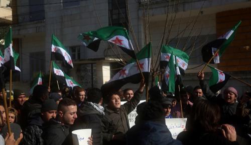 Suriye'de cuma gösterileri