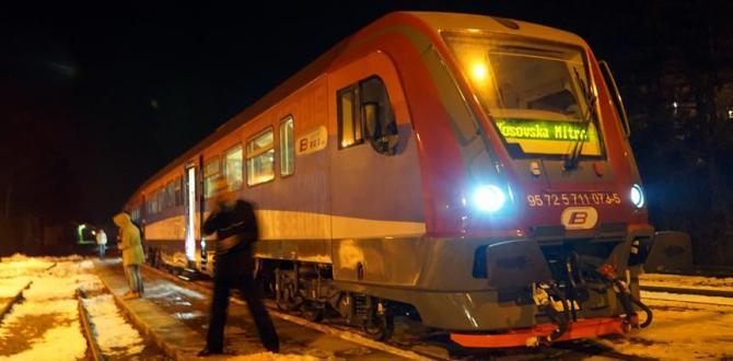 Kosova ile Sırbistan arasında tren gerginliği yaşandı