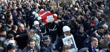 Şehit polis memuru Özdemir Aydın'da son yolculuğuna uğurlandı