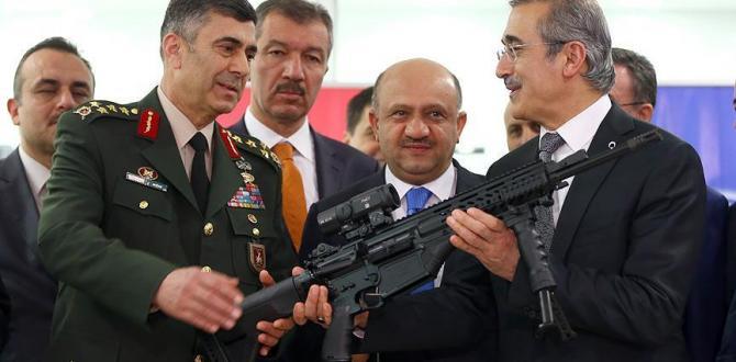 Milli Piyade Tüfeği MPT-76 TSK'ya teslim edildi