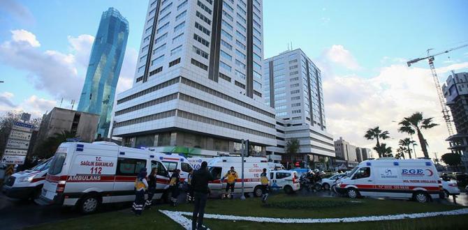 İzmir Adliyesi'ne bombalı araçla saldırı! 1'i polis 2 şehit